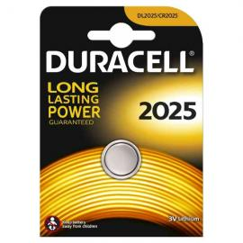 duracell DL2025 LITHIUM CR2025 3V - BLISTER 1 BATTERIA MELDU21