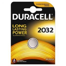 duracell DL2032/BR2032 LITHIUM CR2032 3V - BLISTER 1 BATTERIA MELDU22