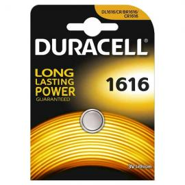 duracell DL1616/BR1616 LITHIUM CR1616 3V - BLISTER 1 BATTERIA MELDU48