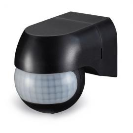 v-tac VT-8028 SENSORE MOVIMENTO E CREPUSCOLARE 12MT IP44 NERO LED5089