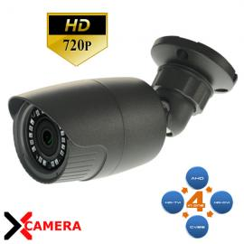 CAMERA BULLET AHD/TVI/CVI/ANALOGICA 18 IR 1,3MP NERA