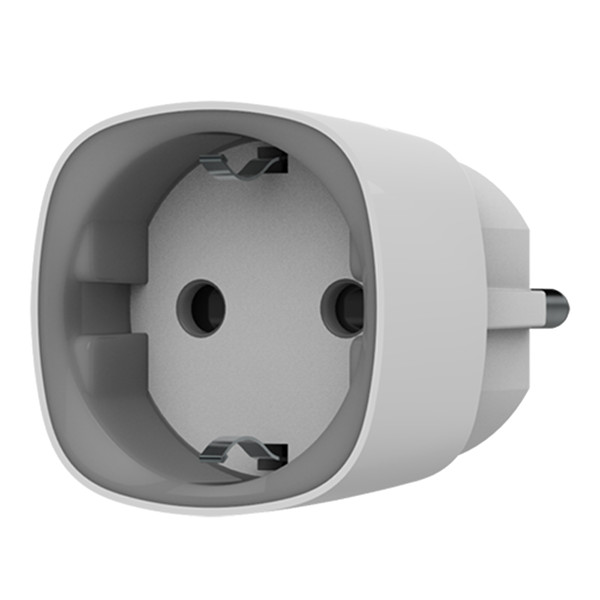 ajax AJSOC AJAX SOCKET PRESA SCHUKO INTELLIGENTE SENZA FILI WIRELESS BIANCO AJ-SOCKET-W