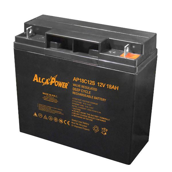 alcapower AP18C12 BATTERIA AL PIOMBO 12V 18AH USO CICLICO ALC206010