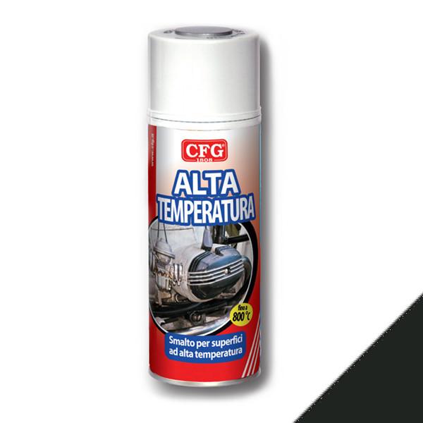 cfg CFGSAL SMALTO ALTA TEMPERATURA PROFESSIONALE NERO CFGS0500