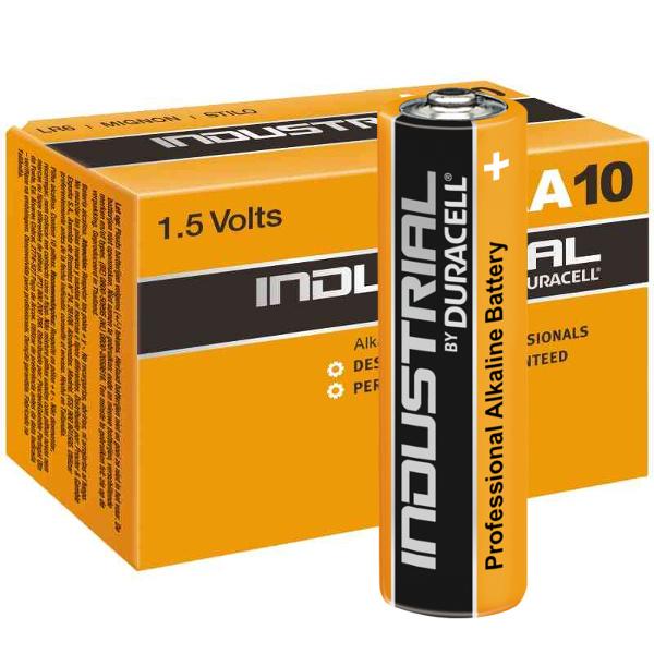duracell LR03/INDUSTRIAL MINISTILO AAA INDUSTRIAL - SCATOLA 10 BATTERIE MELDU103