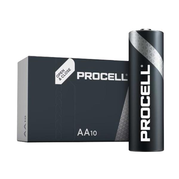 duracell LR6/PROCELL STILO AA PROCELL - SCATOLA 10 BATTERIE MELDU0010
