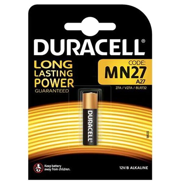 duracell MN27/A27/8LR732 BATTERIA ALCALINA MN27 12V SPECIALISTICA MELDU58