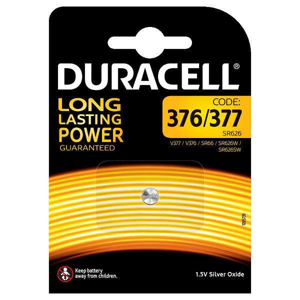 duracell V377/V376/SR66/SR626 BATTERIA SPECIALISTICA 377 376 OSSIDO DI ARGENTO MELDU85