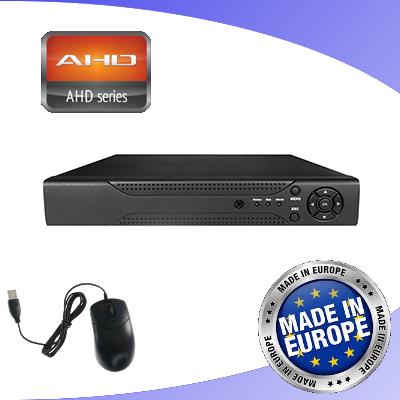 Envio  DVR 4 CANALI AHD 720P A 25FPS IBRIDO VISADN448