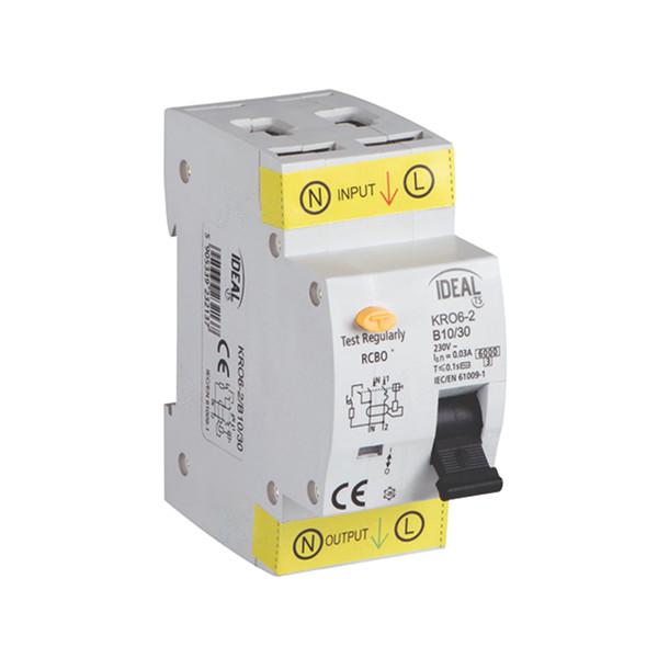ideal KRO62 MAGNETOTERMICO DIFFERENZIALE 16A 1 POLO + NEUTRO 30MA KAN23217