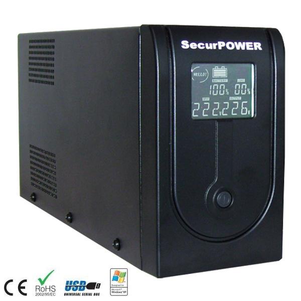 securpower PRX UPS 1000VA 2 POSTAZIONE LCD E USB UPSPRX1000