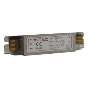 v-tac VT-20026 ALIMENTATORE 12V 25W IP20 SLIM LED3228/home/nhnkwszl/public_html/img/thumb/300/3228.jpg
