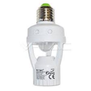 v-tac VT-8005 PORTALAMPADA E27 SENSORE MOVIMENTO E CREPUSCOLARE LED4982/home/nhnkwszl/public_html/img/thumb/300/4982.jpg