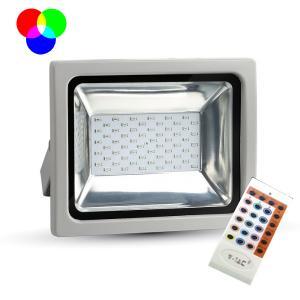 v-tac VT-4732 FARO LED 30W RGB DA ESTERNO GRIGIO LED5755