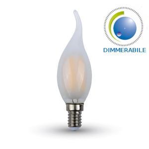 v-tac VT-2056D LAMP. LED E14 4W FIL. SATINATA BIANCO CALDO A FIAMMA DI LED7177/home/nhnkwszl/public_html/img/thumb/300/7177.jpg