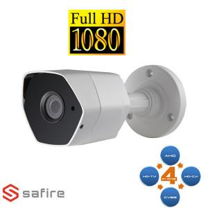 safire SFCV022 CAMERA BULLET AHD/TVI/CVI/ANALOGICA IR ULTRA 2MP  VISSF-CV022KWU-F4N1