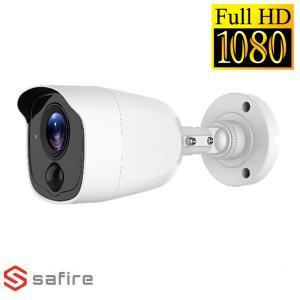 safire SFCV025 CAMERA BULLET HDTVI 20MT IR 2MP PRO CON SENSORE PIR VISSFCV025UWPIRFTV