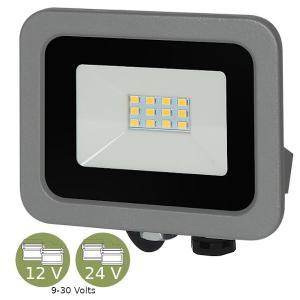 alcapower ADC10W FARO LED 10W ULTRASOTTILE BIANCO NATURALE SMD GRIGIO 12V E 24V ALC930136