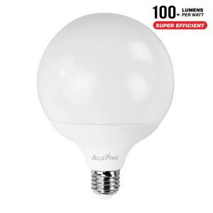 AlcaPower AP20G_L LAMPADINA LED GLOBO E27 G120 20W BIANCO CALDO ALC940016
