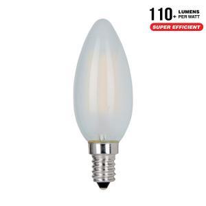 AlcaPower APF37O_4 LAMPADINA LED E14 4W FILAMENTO SATINATA CALDA CANDELA ALC929887