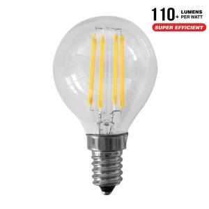 AlcaPower AP453F LAMPADINA LED E14 4W FILAMENTO TRASPARENTE CALDA MINIBULBO P45 ALC930036