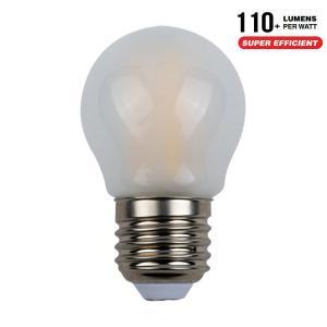AlcaPower APF45_E27 LAMPADINA LED E27 4W FILAMENTO SATINATA CALDA A MINIBULBO ALC929881