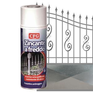cfg CFGZIN PROTETTIVO ANTIRUGGINE ZINCANTE A FREDDO SPRAY CFGS0800