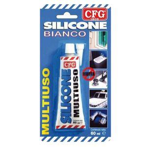cfg SILIC60GR SIGILLANTE SILICONE ANTIMUFFA BIANCO 60GR CFGW00081