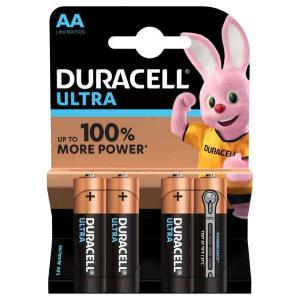 duracell LR6/MX1500 STILO AA ULTRA POWER - BLISTER 4 BATTERIE MELDU0020