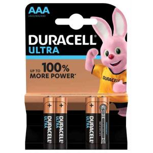 duracell LR03/MX2400 MINISTILO AAA ULTRA POWER - BLISTER 4 BATTERIE MELDU0021