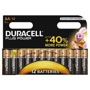 duracell LR6/MN1500 STILO AA PLUS POWER - BLISTER 12 BATTERIE MELDU0120