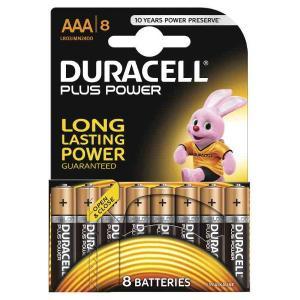 duracell LR03/MN2400 MINISTILO AAA PLUS POWER - BLISTER 8 BATTERIE MELDU0210/home/nhnkwszl/public_html/img/thumb/300/du0210.jpg