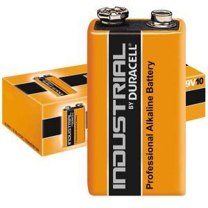 duracell 6LF22/INDUSTRIAL TRANSISTOR 9V INDUSTRIAL - SCATOLA 10 BATTERIE MELDU95
