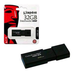 kingston DT100G3 DT100G3 FLASH DRIVE USB 3.0 DATATRAVELER 32 GB DT10032GB