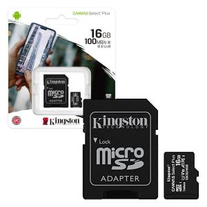 kingston SDCS2 SDCS2 16GB CANVAS SELECT PLUS SCHEDA MICROSD 16 GB SCDS216GB