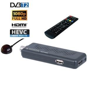 fte MAXT RICEVITORE DIGITALE TERRESTE DVB T2 RETRO HEVC 10 BIT FTEMAXT250HD