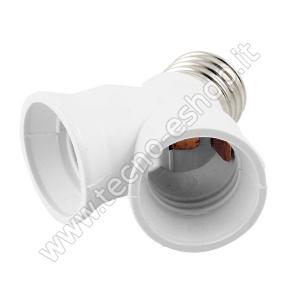 tecno-eshop  SDOPPIATORE PER LAMPADINE  E27  MELPA2702/home/nhnkwszl/public_html/img/thumb/300/pa2702_fil.jpg