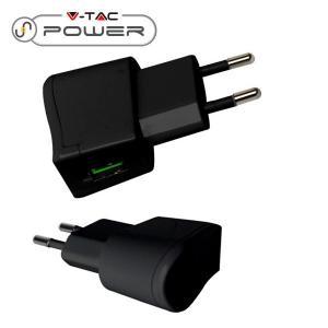 v-tac VT-1024 ADATTATORE CARICABATTERIA USB 5V 2A NERO IN BLISTER LED8792/home/nhnkwszl/public_html/img/thumb/300/v-tac_vt-1024_8792_caricabatteria_usb_2a_nero.jpg