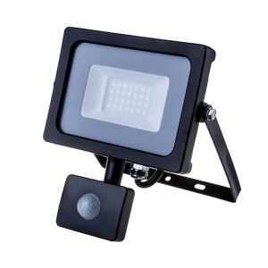 v-tac VT-20-S FARO LED 20W CALDO CON SENSORE MOVIMENTO NERO CHIP SAMSUNG LED451