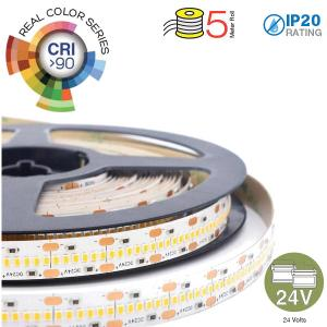 v-tac VT-2110IP20-700 STRISCIA 3500 LED 2110 CALDA 5 METRI NON IMPERMEABILE 24V LED2602