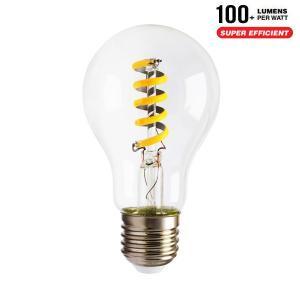 v-tac VT-2164 LAMPADINA LED E27 FILAMENTO 4W BIANCO CALDO SPIRALE LED7336