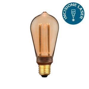 v-tac VT-2185 LAMPADINA LED E27 4W AMBRA ST64 CON INCISIONI LASER LED7474/home/nhnkwszl/public_html/img/thumb/300/v-tac_vt-2185_7474_4W_lampada_E27_ST64_calda_ambra_laser.jpg