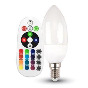 v-tac VT-2214 LAMPADINA LED E14 3,5W A CANDELA MULTICOLORE RGB E BIANCO CALDO RADIOCOMANDO RF LED2769/home/nhnkwszl/public_html/img/thumb/300/v-tac_vt-2214_3,5W_lampada_E14_candela_rgb_wireless.jpg
