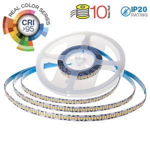 v-tac VT-2835SIP20C95 STRISCIA 2400 LED B. CALDO 10MT  NO IMP. C. SAMSUNG 24V CRI  LED331