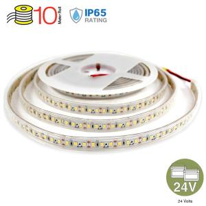 v-tac VT-2835-120-IP65 STRISCIA 1200 LED B. CALDO 10MT IMPERMEABLIE 24V LED2625