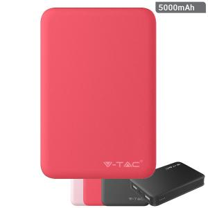v-tac VT-3503 POWER BANK RICARICA CELLULARI 5000MAH  2USB ROSSO LED8192/home/nhnkwszl/public_html/img/thumb/300/v-tac_vt-3503_8192_power_bank_1000ma_rosso.jpg
