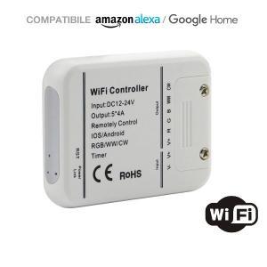 v-tac VT-5009 CONTROLLER LED RGB WW CW WI-FI COMPATIBILE ALEXA E GHOME LED8426/home/nhnkwszl/public_html/img/thumb/300/v-tac_vt-5009_8426_controller_wifi_RGB_WW_CW.jpg