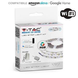 v-tac VT-5050ALEXA KIT STRISCIA 300 LED MULTICOLORE 5 METRI WIFI LED2583/home/nhnkwszl/public_html/img/thumb/300/v-tac_vt-5050ALEXA_2583_2584_60w_kit_strip_led_5050_ip20_controller_alexa.jpg