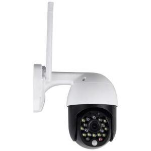 v-tac VT-5159 TELECAMERA IP MINIDOME MOTORIZZATA SENZA FILI WIRELESS 3MP DA ESTERNO LED8989