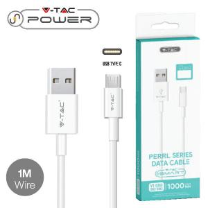 v-tac VT-5302 CAVO USB A USB TYPE C 1 METRI BIANCO PEARL SERIES LED8482/home/nhnkwszl/public_html/img/thumb/300/v-tac_vt-5302_8482_cavo_usb_micro_bianco_1mt_pearl_series.jpg